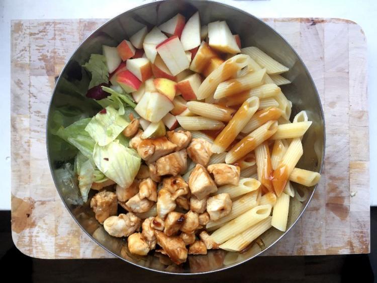maaltijdsalade om te eten