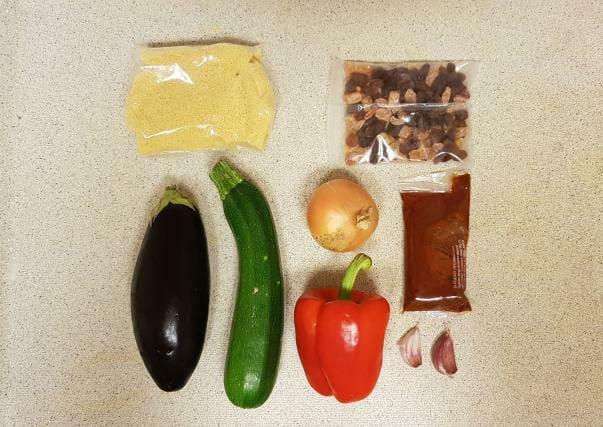 verspakket lidl kruidige couscous ingredienten