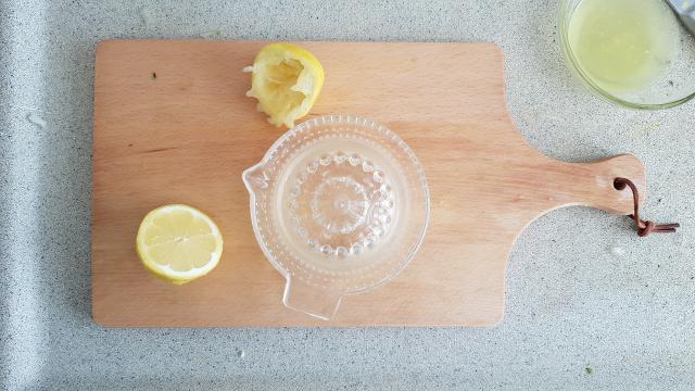 Lidl Risotto venkel verspakket citroen persen