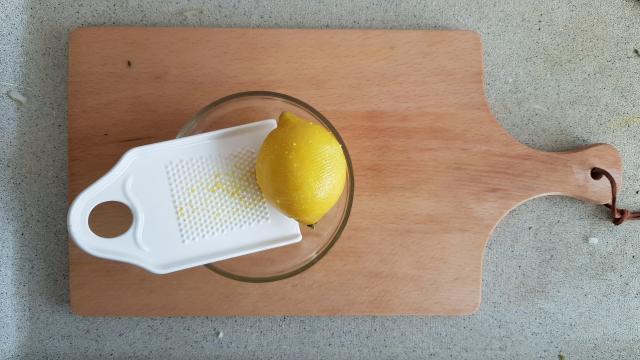 Lidl Risotto venkel verspakket citroen raspen