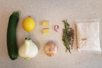 Lidl Risotto venkel verspakket ingredienten