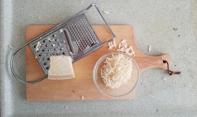 Lidl Risotto venkel verspakket parmezaanse kaas raspen
