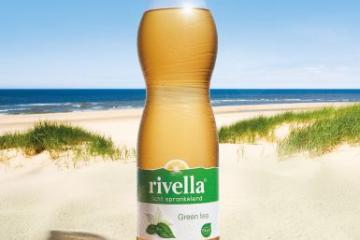 Rivella green tea fles friesdrank