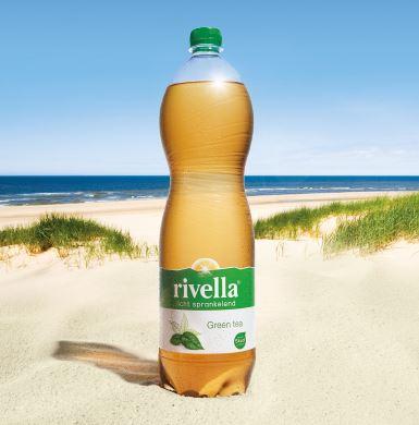 Rivella green tea fles friesdrank