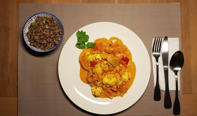 ah verspakket Indiase curry madras variatie met linzen