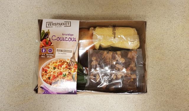 kruidige couscous verspakket lidl doos