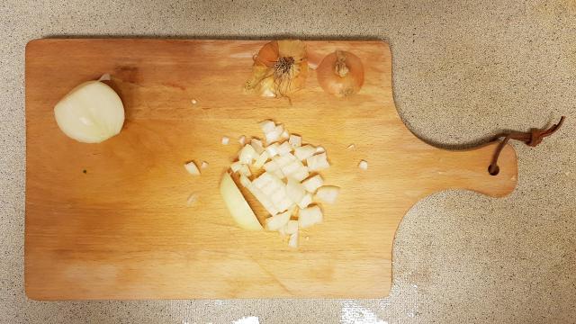 kruidige couscous verspakket lidl ui snijden