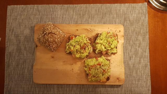 snelle mexicaanse guacamole hap