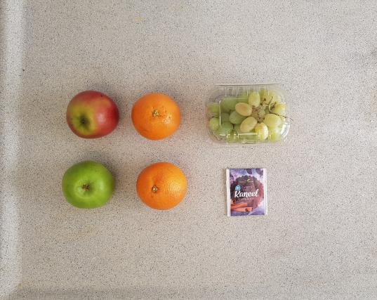AH verspakket Sinaasappel appel smoothie inhoud