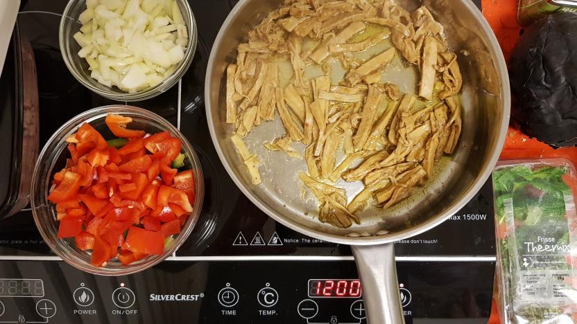 Jumbo verspakket mexicaanse burrito kip bakken
