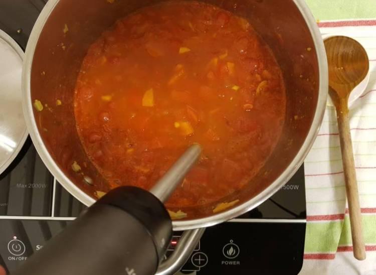 Tomatensoep met paprika Jumbo verspakket pureren