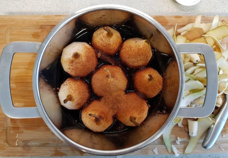 dessert verspakket stoofpeertjes Albert Heijn gesuikerde peren