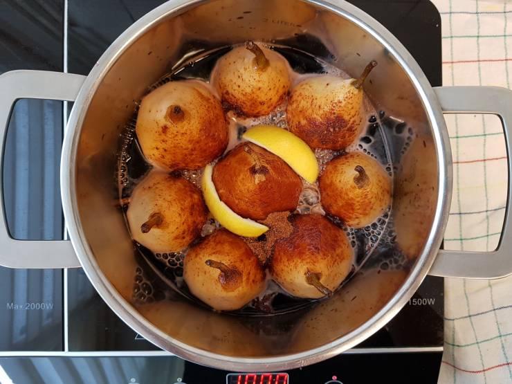 dessert verspakket stoofpeertjes Albert Heijn gesuikerde peren stoven