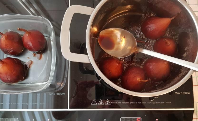 dessert verspakket stoofpeertjes Albert Heijn gesuikerde vocht