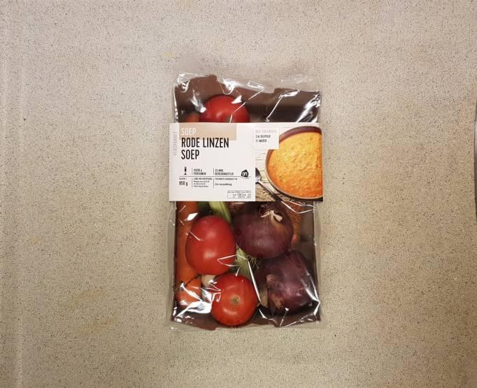 Rode linzensoep AH verspakket