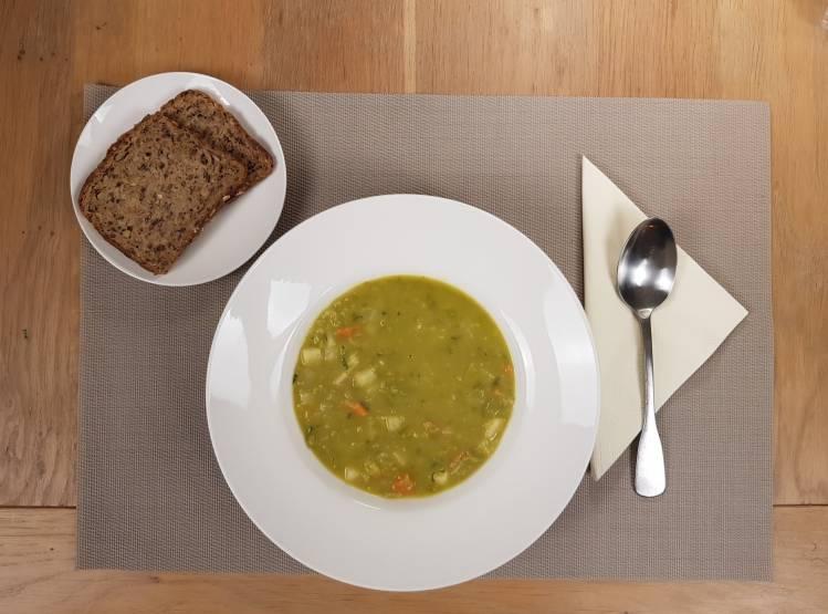 Hoogvliet erwtensoep pakket spliterwten groenten 20 minuten ready