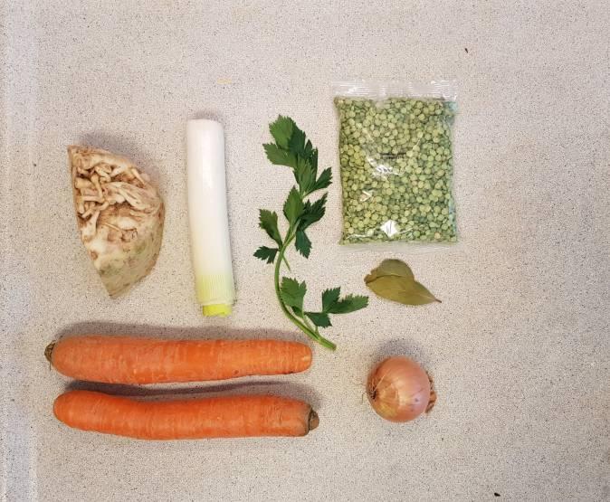 erwtensoep pakket dirk van den broek ingredienten