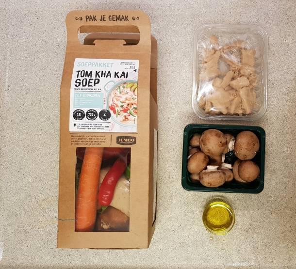 Tom Kha Kai Jumbo verspakket verpakking