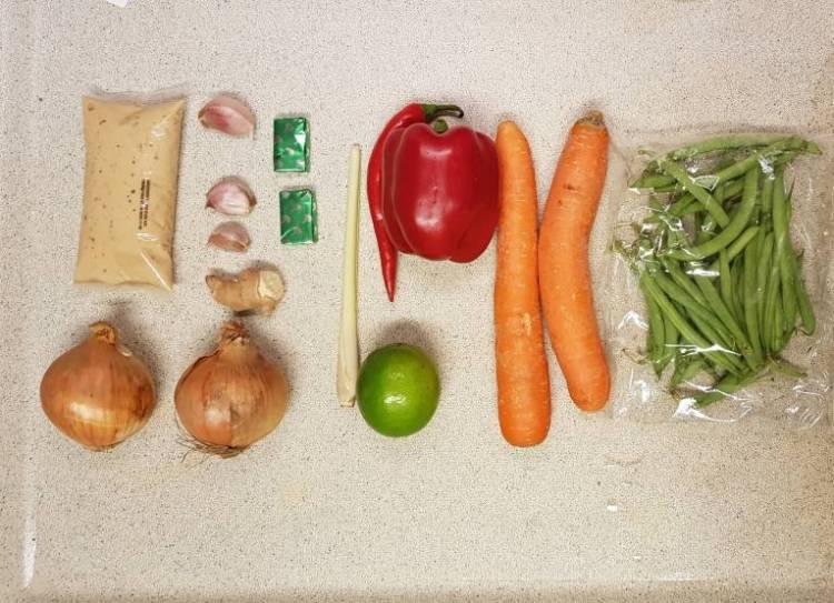 Tom Kha Kai Jumbo verspakket ingrediënten