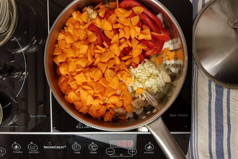 Tom Kha Kai jumbo verspakket groenten bakken