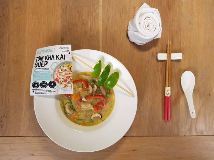 Tom Kha Kai jumbo etiket