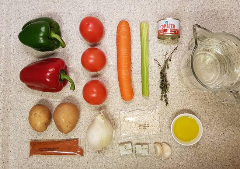 AH verspakket Goulashsoep ingrediënten