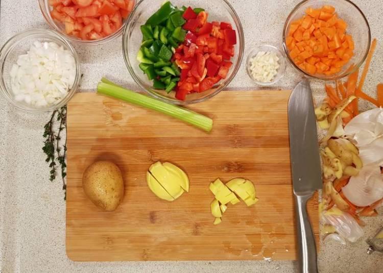 AH verspakket Goulashsoep aardappel blokjes