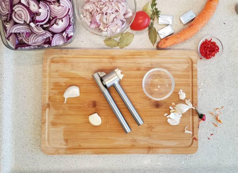 Uiensoep met wortel verspakket plus knoflook