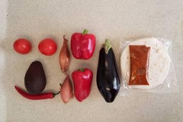 Tandoori wrap verspakket Plus ingrediënten