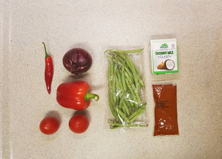 curry madras plus verspakket ingrediënten