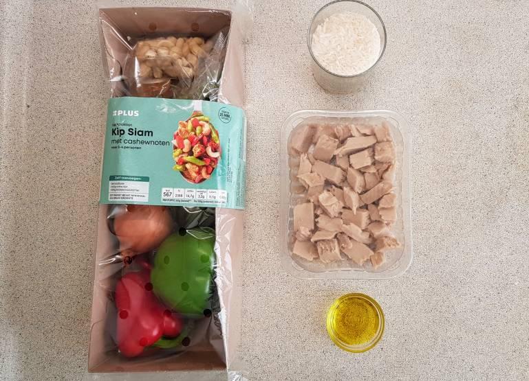 Kip Siam verspakket plus verpakking