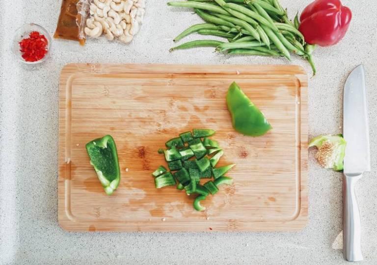 Kip Siam verspakket groen paprika
