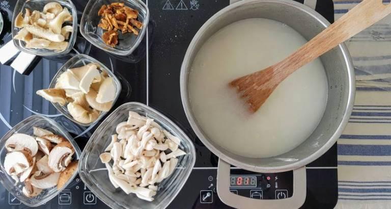 Jumbo soeppakket paddenstoelensoep water toevoegen