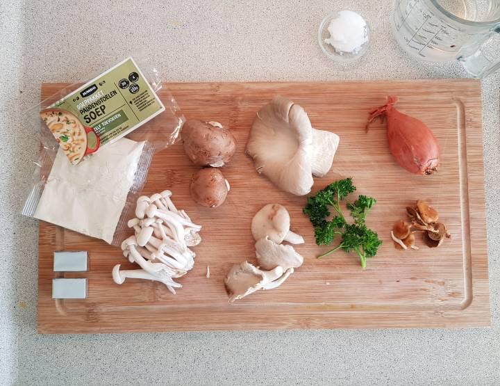 Jumbo soeppakket paddenstoelensoep inhoud verspakket
