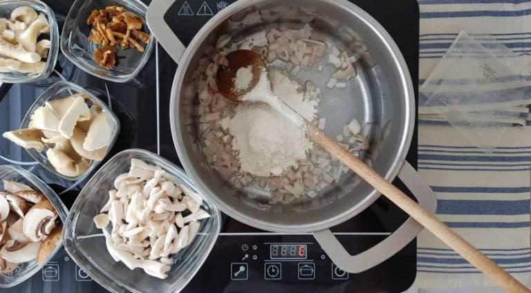 Jumbo soeppakket paddenstoelensoep roux maken